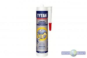 Универсальный силиконовый герметик TYTAN